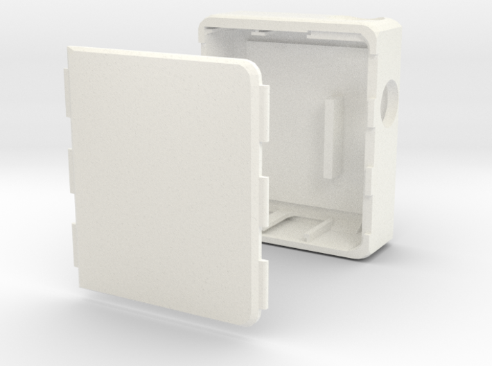MARK XI Unregulated Dual 18650 Box Mod 3d printed