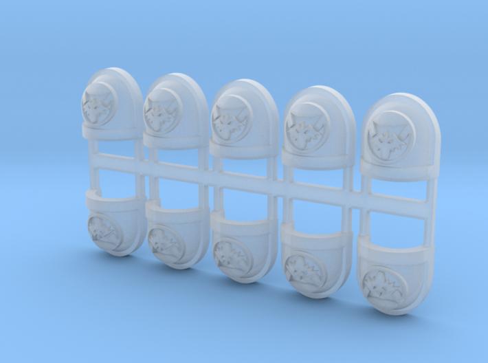 Moon Wolves - Standard Shoulder x10 3d printed