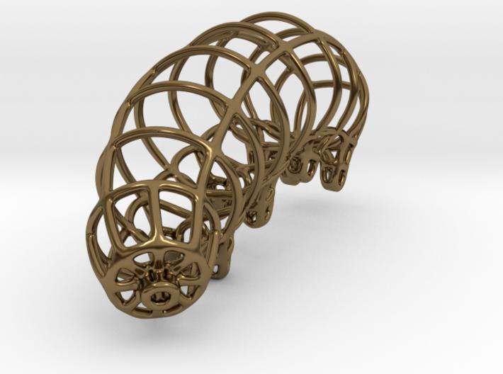 Wireframe Tardigrade 3d printed