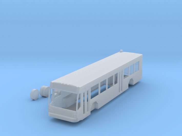 n scale gillig brt bus right hand drive 3d printed