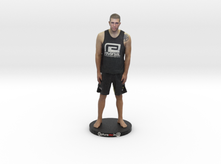 "Brian LONG ISLAND MMA With Base - 6"" Figurine 3d printed"