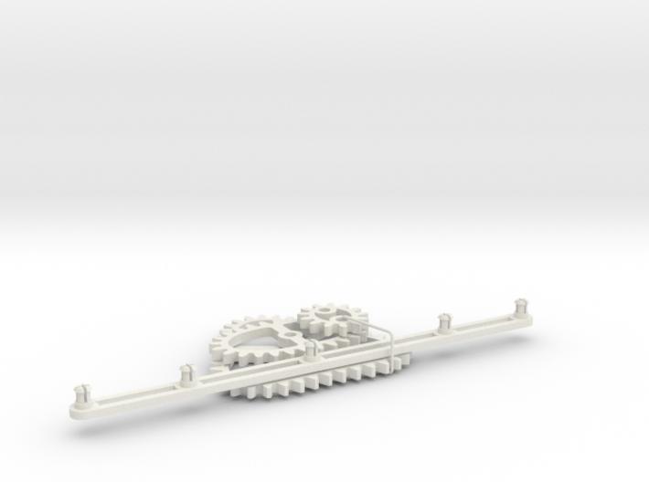 Non-circular Gear Toy A-1 3d printed