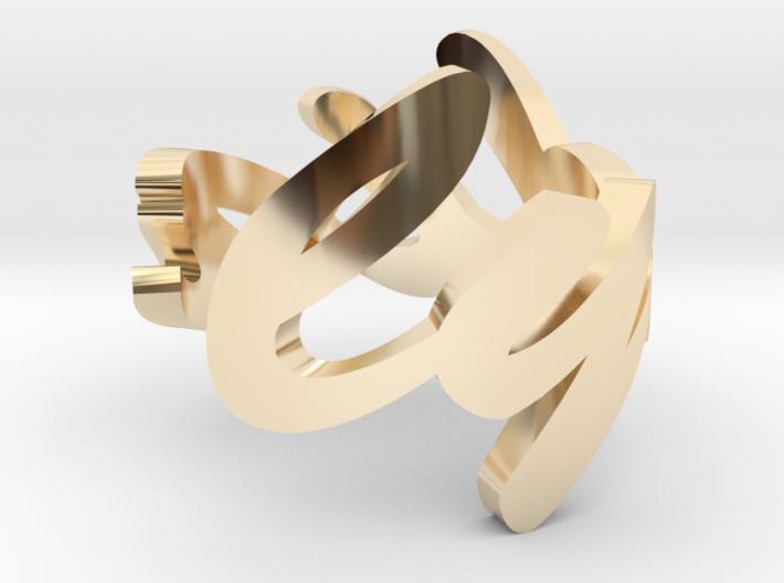 Lydia Ring 3d printed