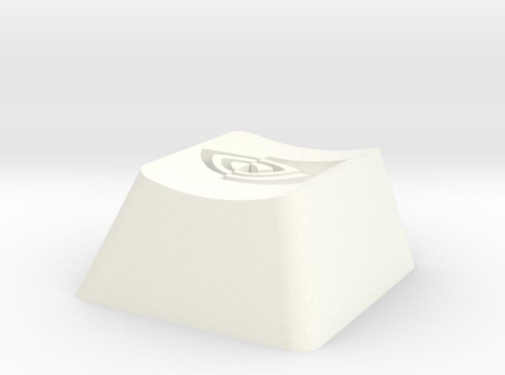 Nvidia Cherry MX Keycap 3d printed