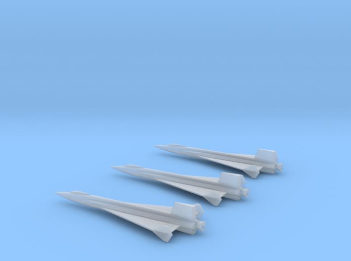 1/285 NAA X-15 DELTA WING ROCKET PLANE (3) 3d printed