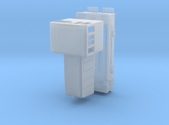N Scale Std. Gauge GE 25-Tonner 3d printed