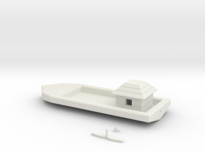 Simple Floating Boat 3d printed