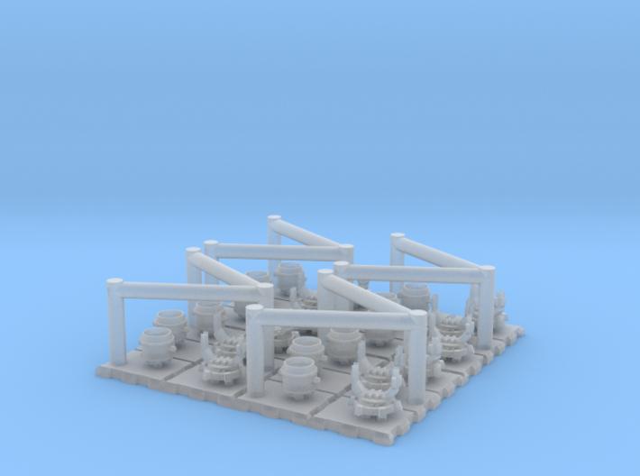1/700 IJN Searchlingts 110cm 3d printed