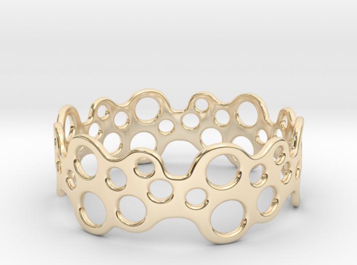 Bubbles Bracelet 75 3d printed