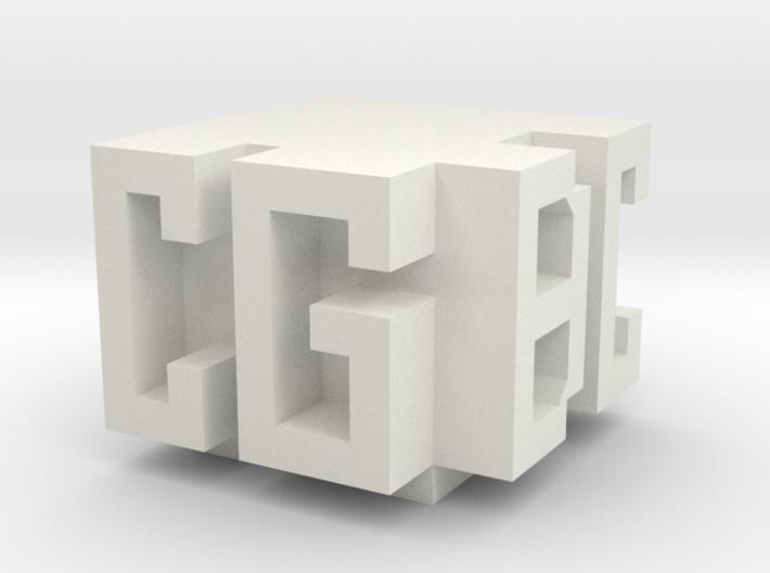 CGBC Logo 3d printed