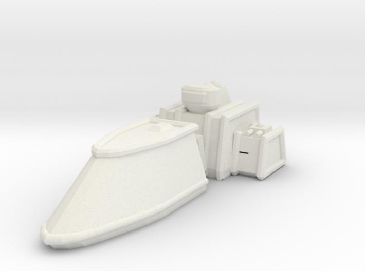 ZD102 Thorgrim Escort Frigate 3d printed
