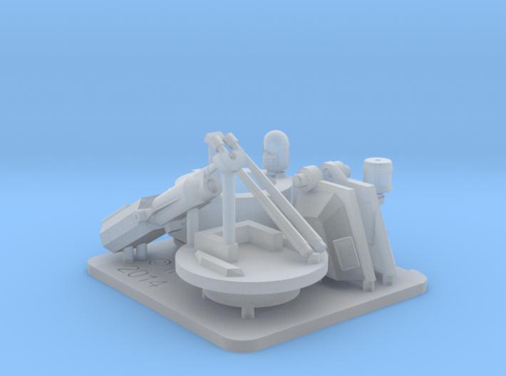 25mm MK38 MOD 2 1/72 x 1 3d printed
