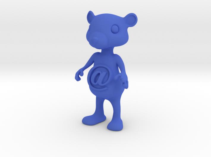 Tiny@belly bear 3d printed