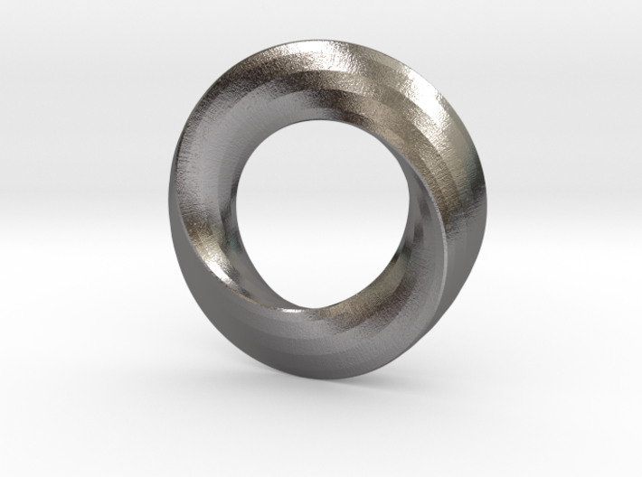 twisted moebius 3d printed