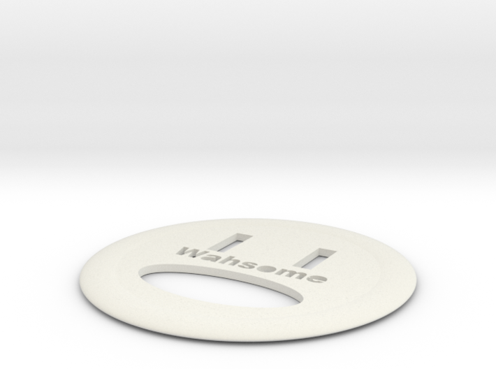 WAHSOME FRISBEE 3d printed