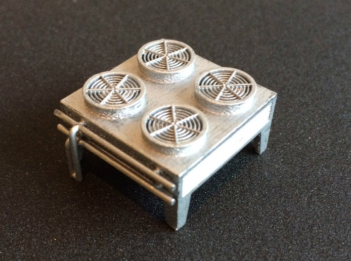 N Scale Condensor Unit 3d printed