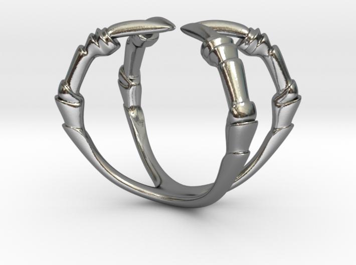 Talon Ring 3d printed