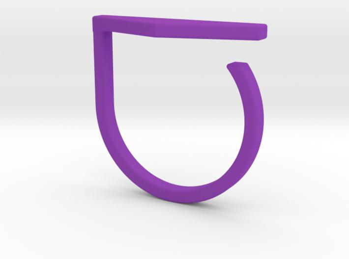 Adjustable ring. Basic model 11. 3d printed