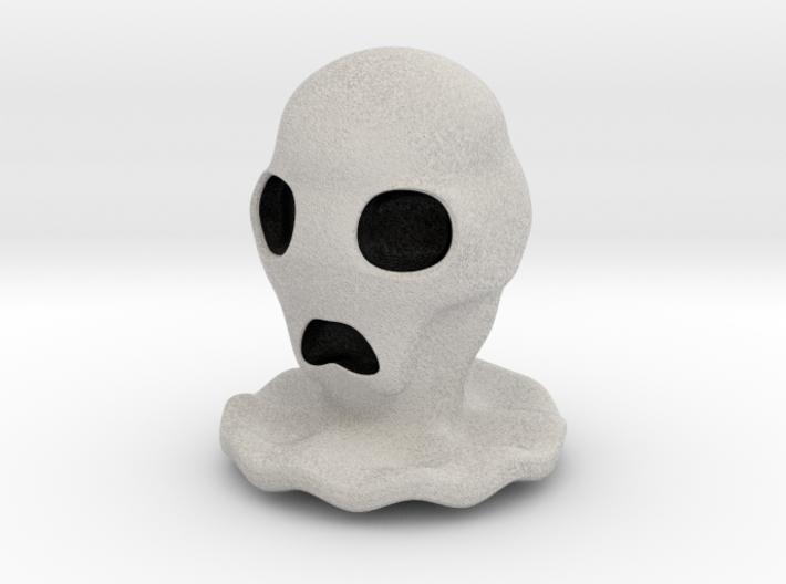 Halloween Character Hollowed Figurine: CreepyGhost 3d printed