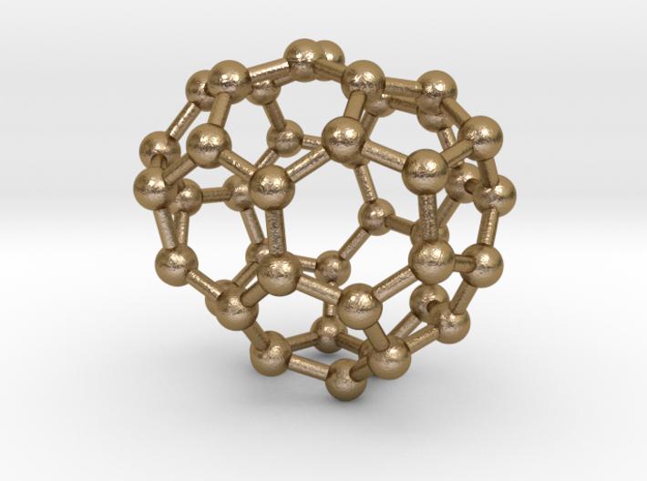 0258 Fullerene C42-37 c1 3d printed