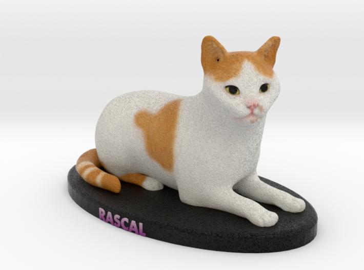 Custom Cat Figurine - Rascal 3d printed