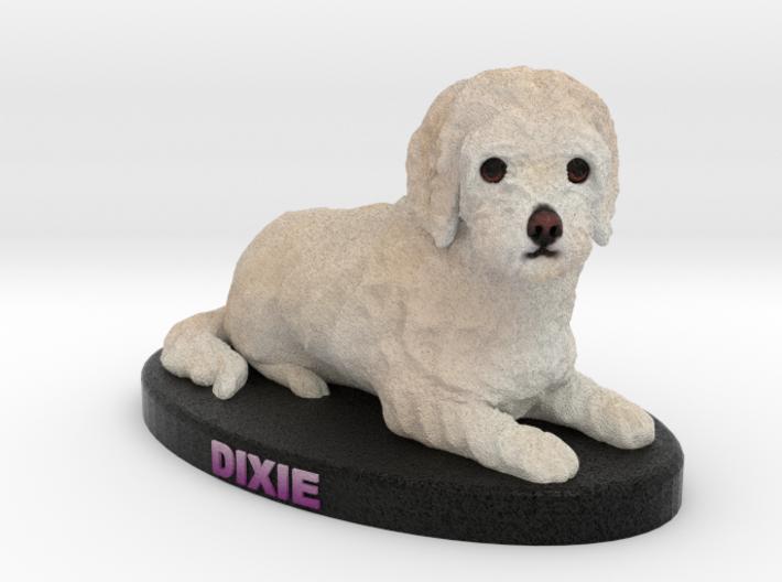 Custom Dog Figurine - Dixie 3d printed