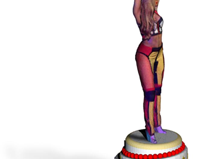 Rihanna On Cake 3d printed