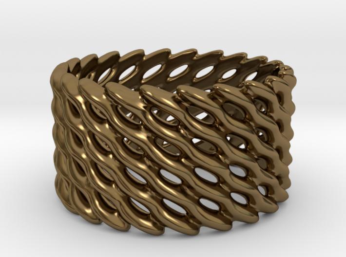 Lattice Twist No.1 3d printed