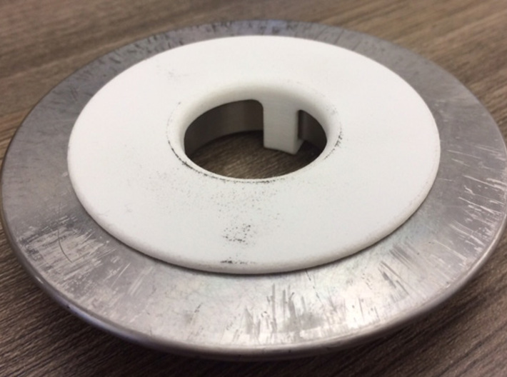Cable protection ring 3d printed