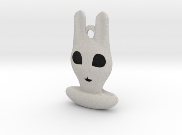 Halloween Hollowed Accessory: Bunny Ghosty 3d printed