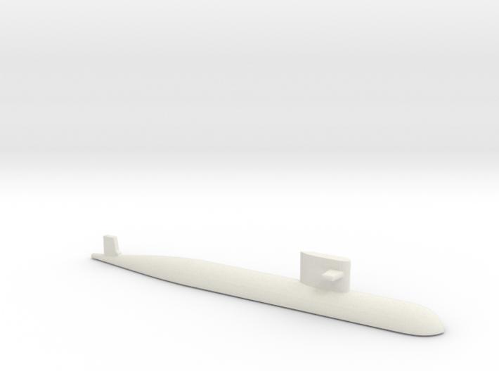 PLA[N] 093 Submarine, 1/2400 3d printed