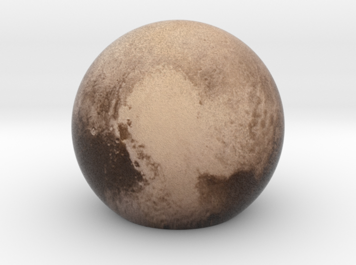 Pluto Sphere Small 3d printed