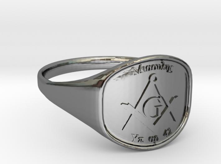 Mason Ring Miaoulis 3d printed
