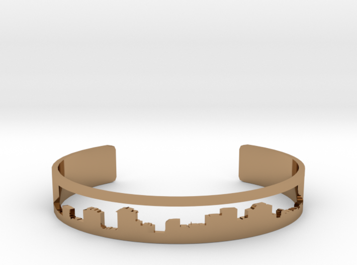 New Orleans Bracelet NOLA Cuff Skyline 3d printed