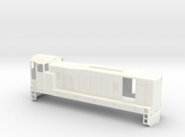 Irish Railways 121 Class 3d printed