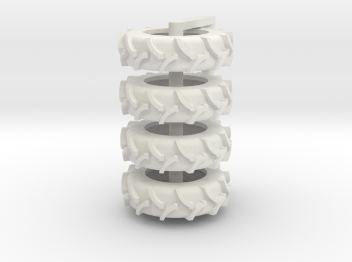 1/64 20.8 x 42 Rice Tire 4 3d printed