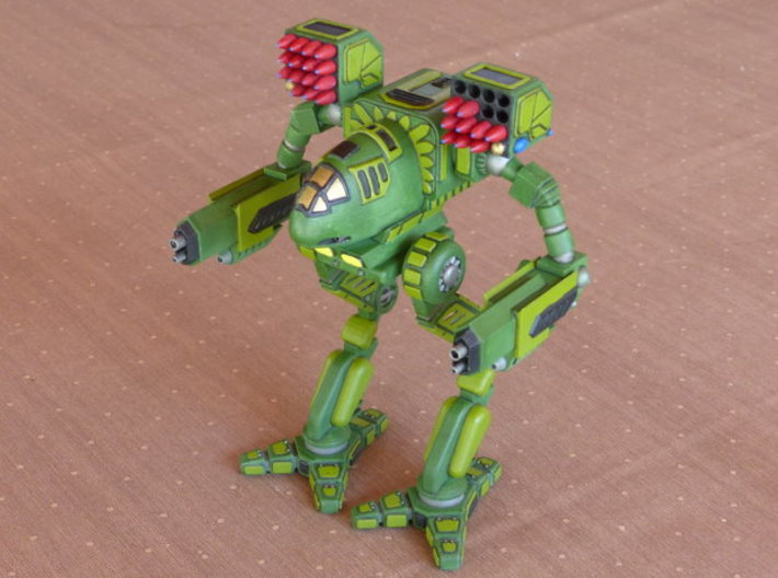 Mad Cat / Timber Wolf Battlemech 1/72 Scale 3d printed