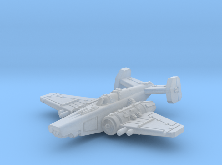 Fighter 3d printed