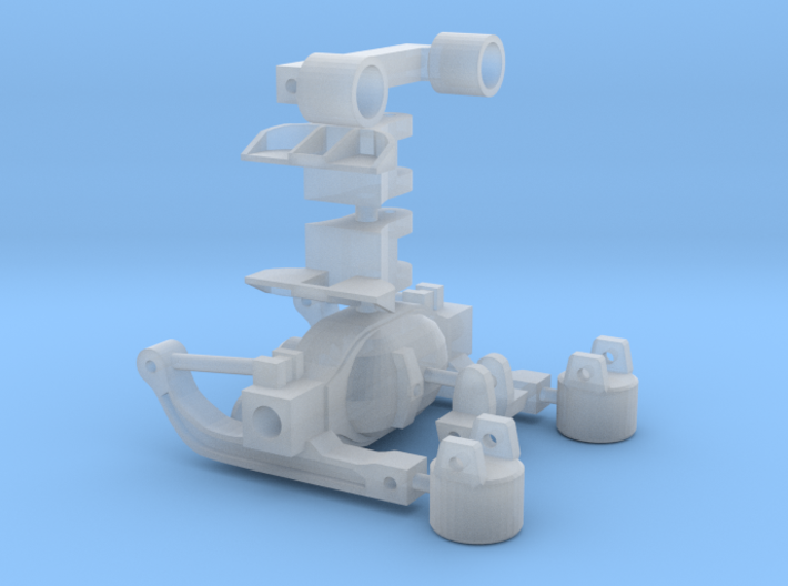1/50 Scale Rear Axle Suspension 3d printed