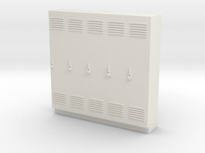Standard Scale Lockers 3d printed