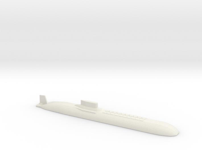 Typhoon Submarine, 1/2400 3d printed