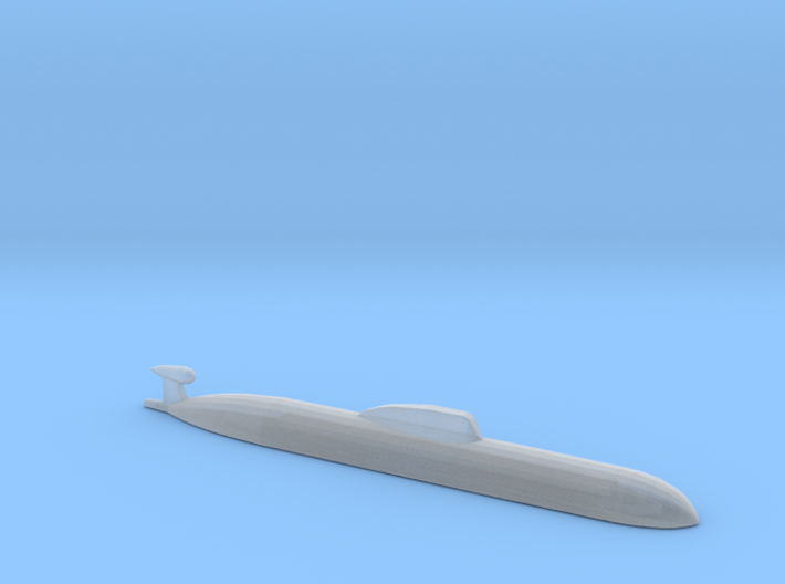 Akula SSN, 1/2400 for FUD 3d printed