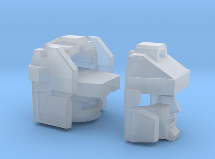Blocky Glider Head G1/Dreamwave Version 3d printed
