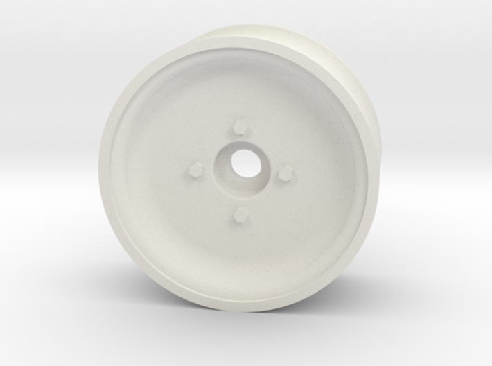 1/10 SCALE 1.9 TRAILER WHEEL, SOLID 3d printed
