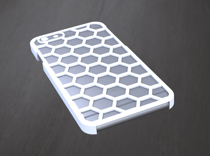 iPhone 6/6s Case - Hexagon Design 3d printed