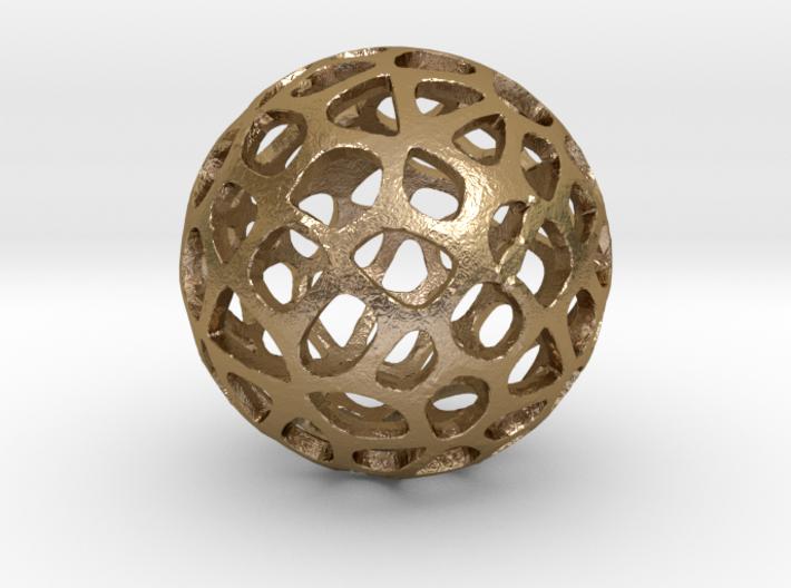 Voronoi Sphere 3d printed