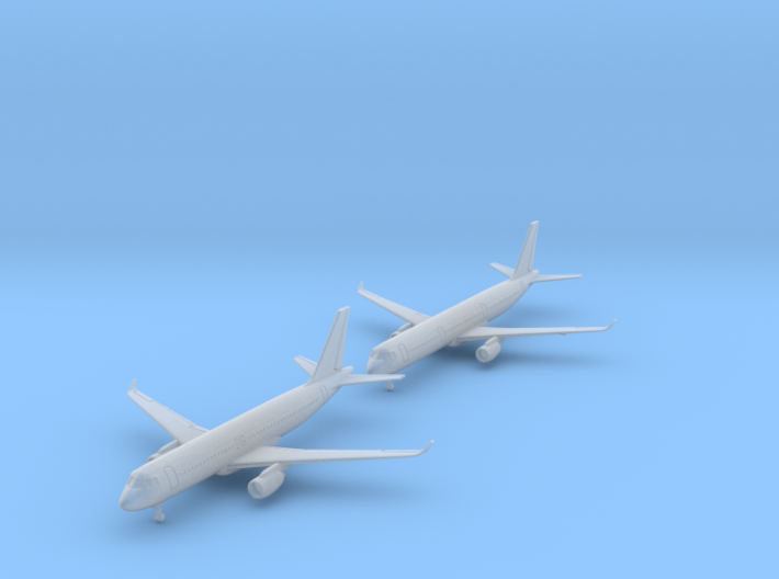 1/700 A320 & A321 with Gear (FUD) 3d printed
