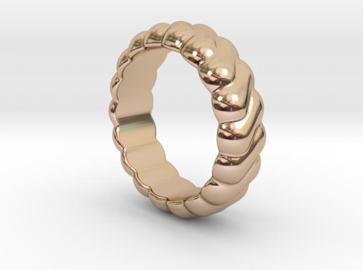 Harmony Ring 23 - Italian Size 23 3d printed