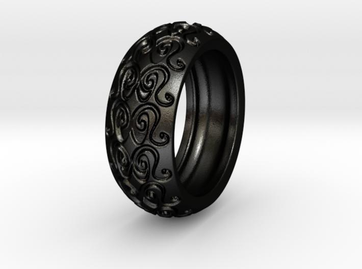 Sharon Ray - Ring - US 9 - 19 mm inside diameter 3d printed