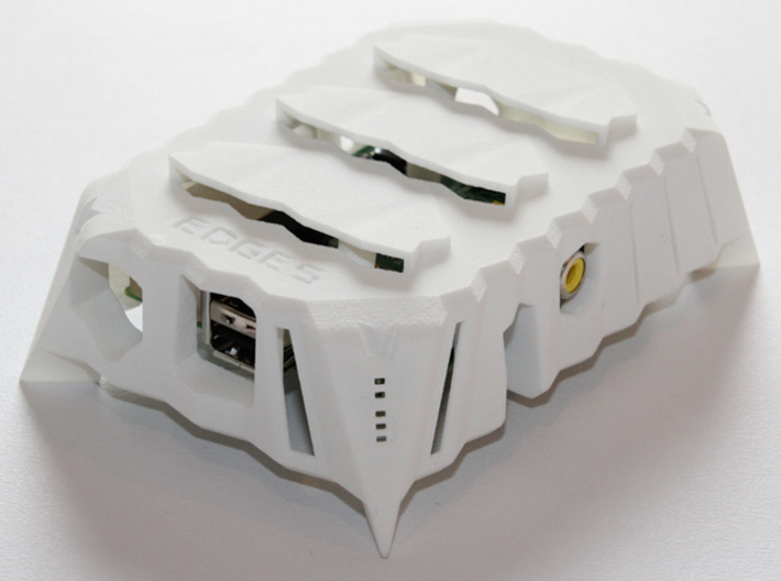 Edges Raspberry Pi Case 3d printed